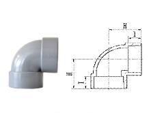 JIS-DWV 90° Elbow